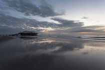 Wolkenspiegelung in St. Peter-Ording by Simone Jahnke
