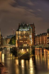 Nacht in der Speicherstadt von Jens Hennig