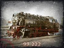Dampflok 99 222 by Roland H. Palm