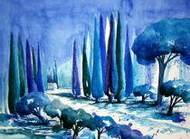 Impression in Blau von Inez Eckenbach-Henning