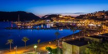 Port de Soller - Harbour Sunset by Moritz Wicklein