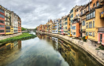 The Houses on the River Onyar (Girona, Catalonia) by Marc Garrido Clotet