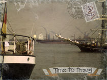 Time to travel (Schiffe) by Roland H. Palm