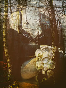 Sitting in the autumn by Gabi Hampe