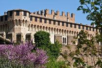 Gradara. Italian renaissance town by bruno paolo benedetti