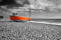 Orange Boat von David Tinsley