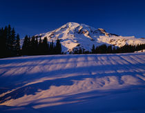 Mount Rainier winter by Jim Corwin