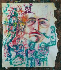 Lost Sketchbook | Verlorenes Skizzenbuch | Bloc de dibujo perdido  von artistdesign