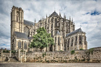 Cathedral of Saint Julian of Le Mans (France) by Marc Garrido Clotet