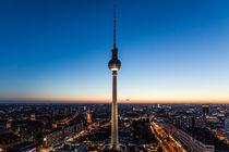 Der Fernsehturm von Berlin von Moritz Wicklein