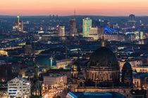 Der Berliner Dom und der Potsdamer Platz von Moritz Wicklein