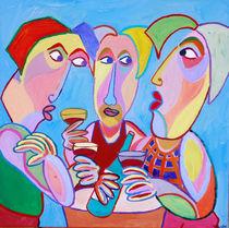 "Gemälde ""Guter Wein"" - Painting ""Good wine"" by Twan de Vos"
