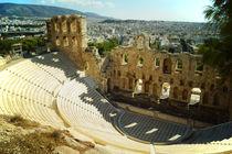 Akropolis, Odeon des Herodes Attikus by Sabine Radtke