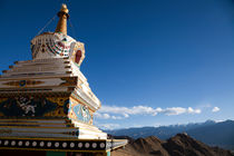 Buddhist stupa, Leh, Ladakh, India by studio-octavio