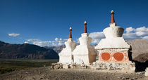 Buddhist Stupas Nubrah Valley, Ladakh 1 by studio-octavio