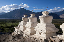 Buddhist Stupas, Nubrah Valley, Ladakh 2 by studio-octavio