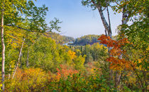 Fall In Gooseberry State Park von John Bailey