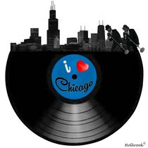 I Love Chicago by holbrookart
