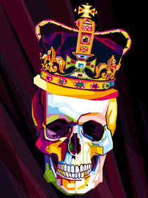 Skull Pop Art Contemporary Digital Artist Conqr by Unpublic Artists