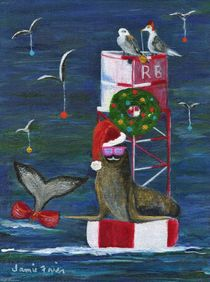 Christmas Seal and Friends by Jamie Frier