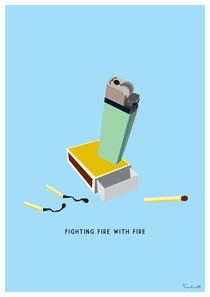 Fighting fire with fire von Helen Trabolt