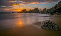 Fels am Strand von Barbara Seiberl-Stark