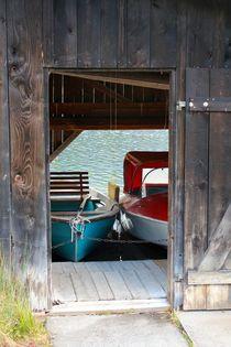 BOOT GARAGE von © Ivonne Wentzler