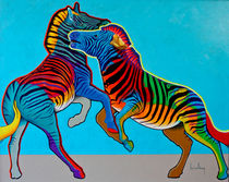 Clash of Colors by Keith Alway