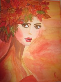'Lady of autumn/ Herbst-Fee' von Rena Rady