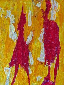 The red meeting von Gabi Hampe