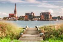 Blick auf Rostock by Rico Ködder