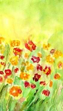 Menuett der Blumen by claudiag