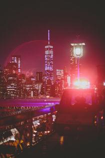 New York City Brooklyn Bridge  von Franziska Molina