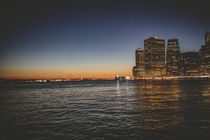New York City at night von Franziska Molina