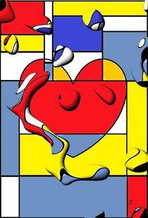 Popart Herz by EinzigARTig von Nico  Bielow