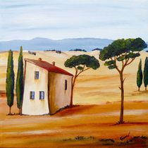 'Toskana 2 modern ' von Christine Huwer