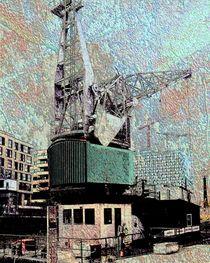Altes Kranschiff von Peter Norden