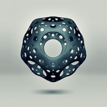 Cavus Icosahedron by Richard Davis