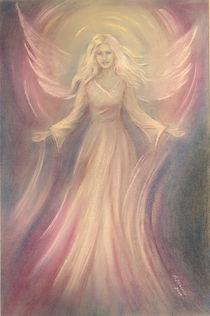 Engel Licht und Liebe - Engelmalerei von Marita Zacharias