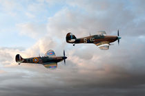 Supermarine Spitfire and Hawker Hurricane by Steve H Clark Photography