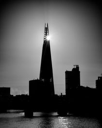 The Shard With The Morning Sun von Graham Prentice