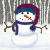 Puffy The Snowman by Michelle Brenmark