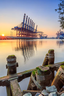 Port of Hamburg I  by Christine Berkhoff