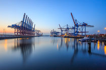 Port of Hamburg II by Christine Berkhoff