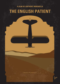 No361 My The English Patient minimal movie poster by chungkong