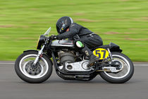 1962 Norton Manx 499cc Motorcycle by Andrew Harker