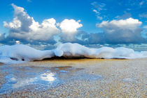 Beach Foam by Sean Davey