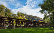 The Trestle At Harpers Ferry by John Bailey