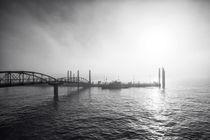 Hafen im Nebel by Simone Jahnke
