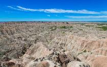 Badlands Hat Butte Overlook by John Bailey